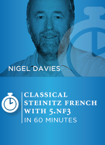 Classical Steinitz French With 5.Nf3