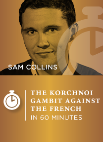 The Korchnoi Gambit against the French