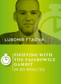 Fighting for the initiative with the Fajarowicz Gambit