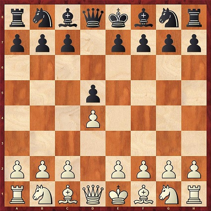 After 1.d4 too, the most solid reply is the symmetrical (1...d5) and so it is extremely popular. White can then choose the Queen's Gambit by playing 2.c4, whereas all other continuations are classified as Queen's Pawn Games.
