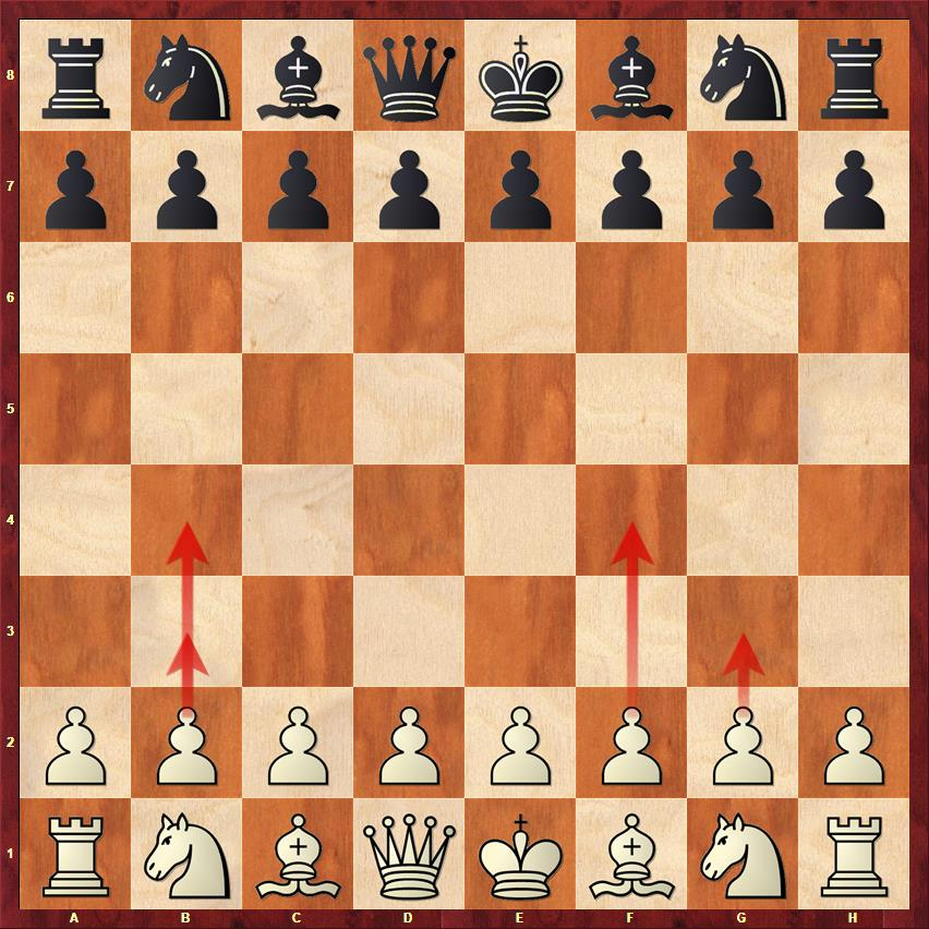 In addition to the main two moves 1.e4 and 1.d4, there are also 1.c4 and 1.Nf3 which are considered very solid and respectable ways to start the game. But White can also permit himself to start with 1.b3, 1.g3 or even 1.f4 or 1.b4.